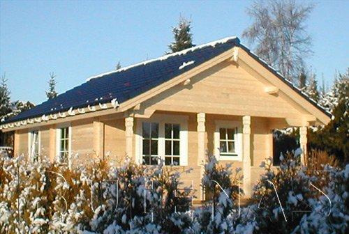 Sauna - Blockhaus-Sauna OSLO 43