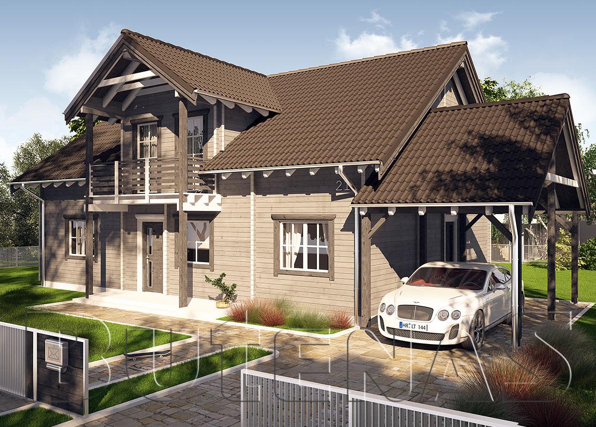 Bild von Wohnhaus - Wohnblockhaus Goldberg